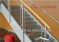 Durable Staircase Railing Balustrade Wire Mesh/Flexible Stainless Steel Cable Netting